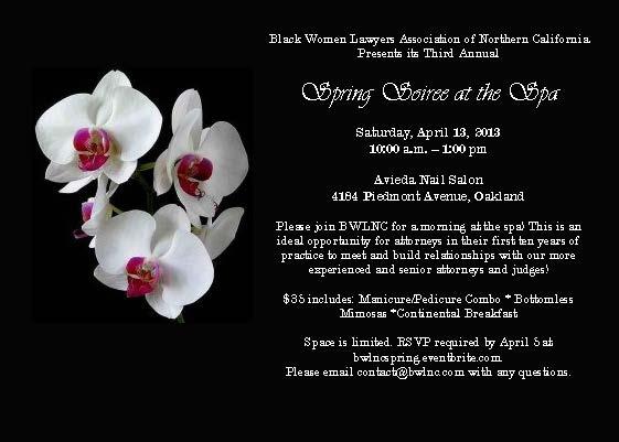 Spa Event April 13