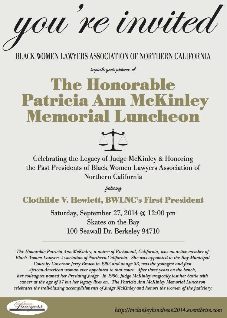 McKinley Luncheon