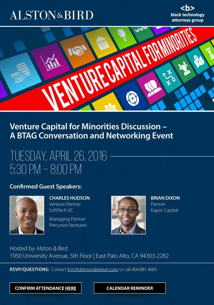BTAG Venture Capital for Minorities INVITE